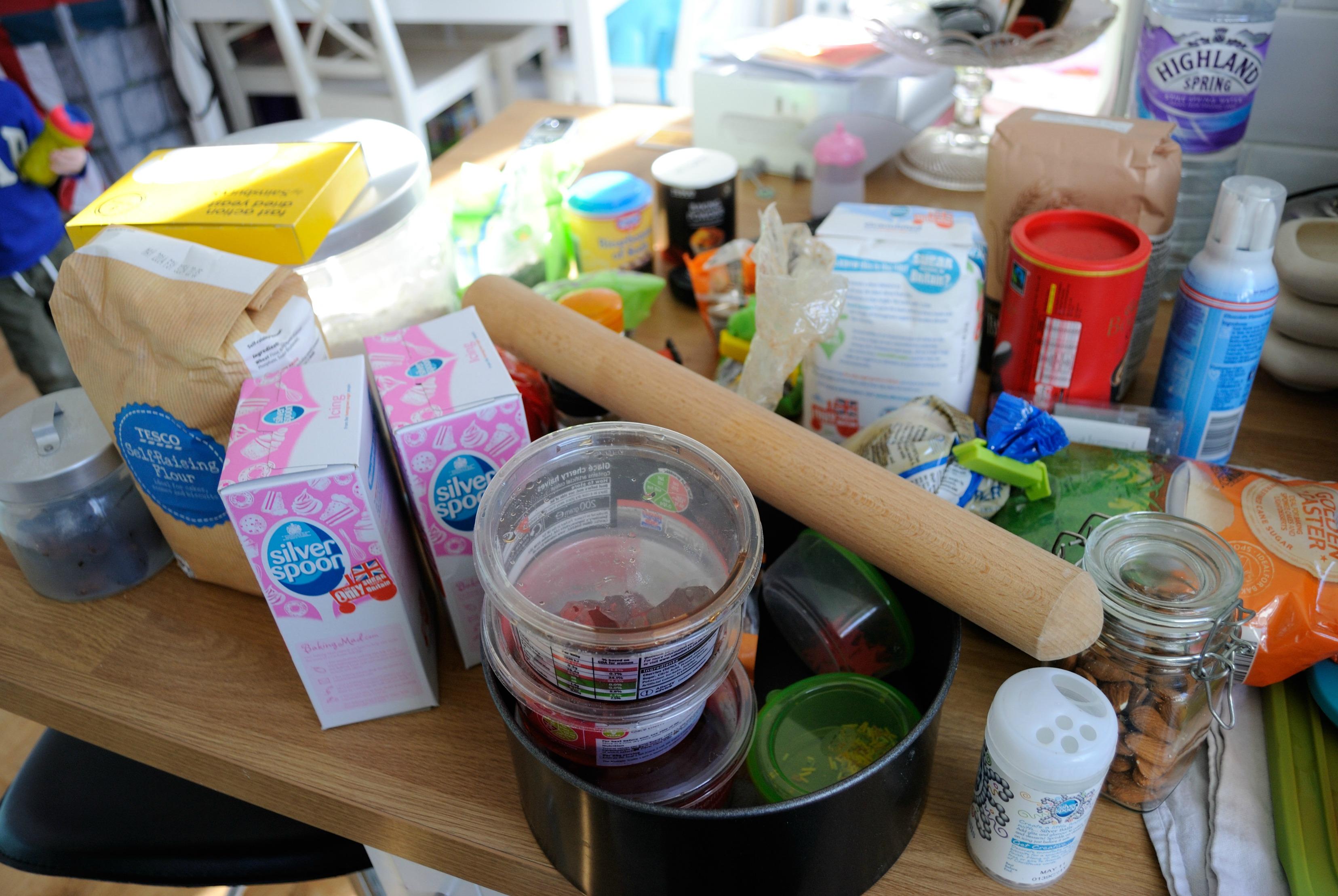 Baking cupboard 21