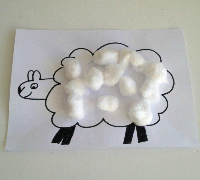 Cotton wool lambs pic 3